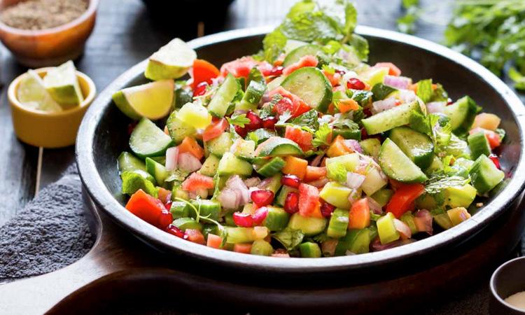 Kachoomber Salad