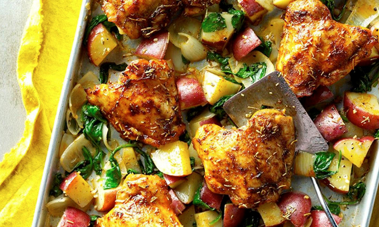 Easy Roasted Chicken And Vegetables