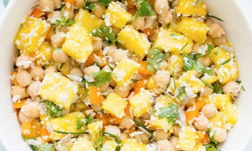 Fruity Chick Peas Salad
