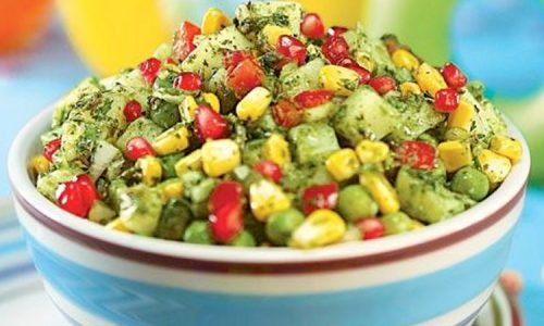 Green Pea And Corn Bhel