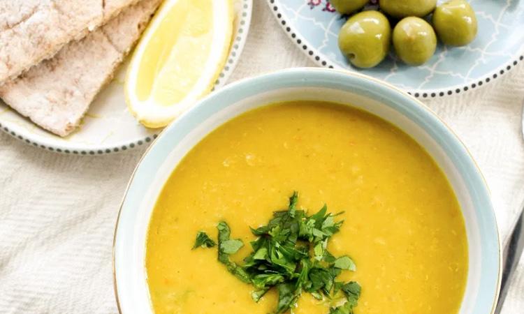 Lentil And Oats Soup
