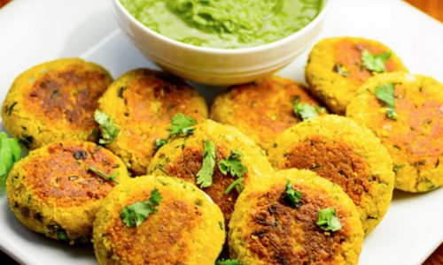 Oats And Moong Dal Tikki (Cutlets)
