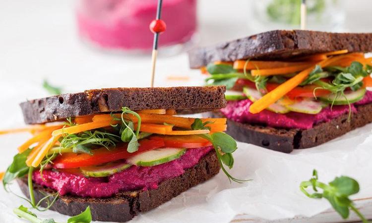 Pink Wink Sandwiches