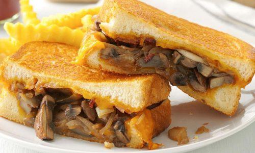Soya Mushroom Sandwich