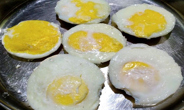 Steamed Egg Idli